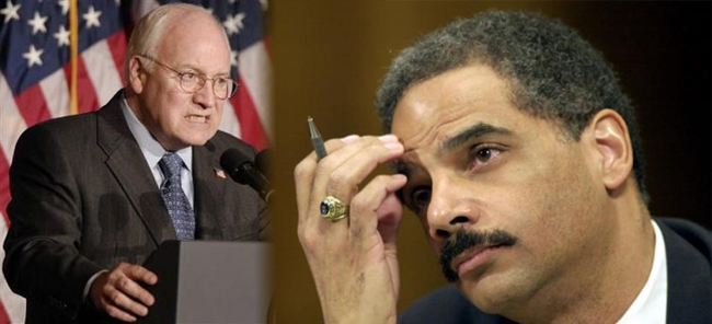 Cheney vs Holder